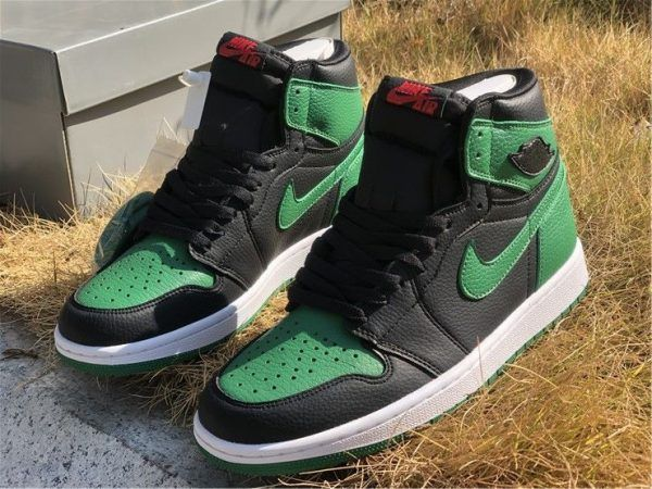 Air Jordan 1 High Og Black Pine Green Air Jordans Red And White Jordans Jordan 1