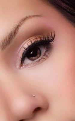 Natural - Click Pic for 18 Makeup Tips for Brown Eyed Girls