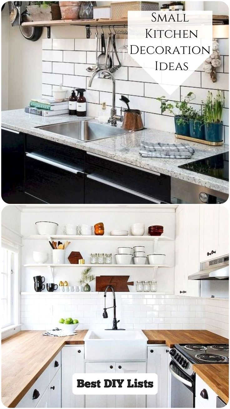 Best 10 Clever Ideas For Small Kitchen Decoration In 2020 400 x 300