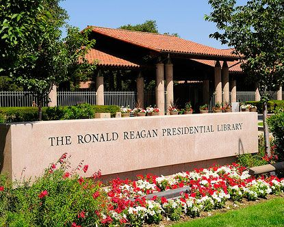 Ronald Reagan Library, Or favorite place in California! Proud members!!! :)