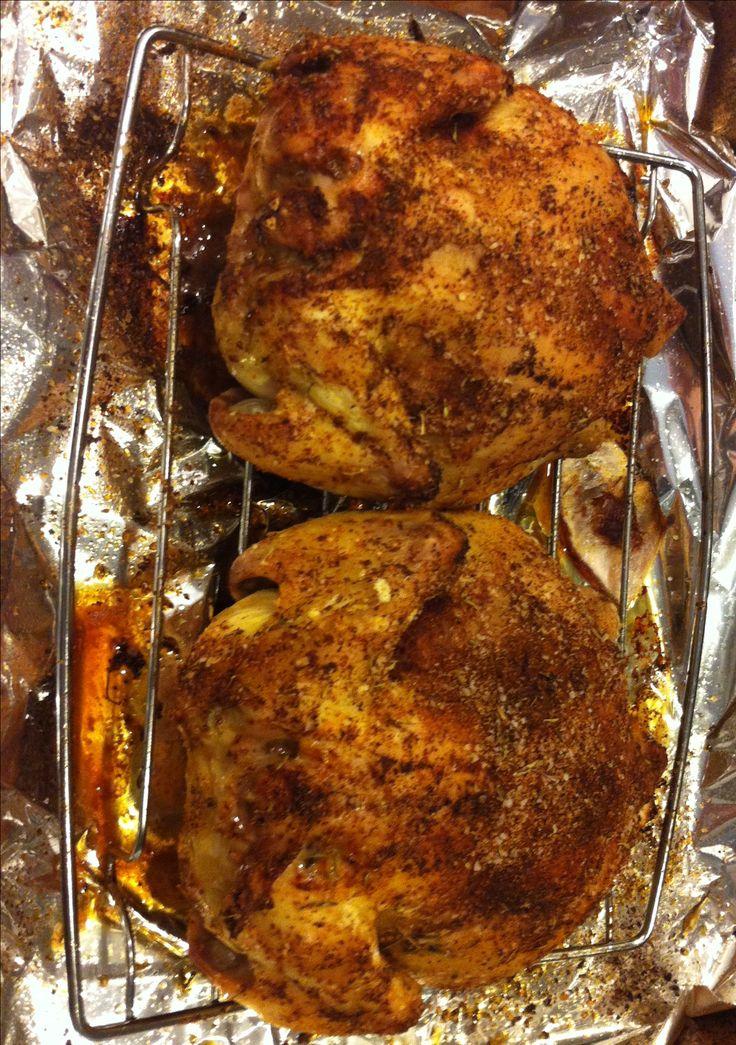 Baked Cornish Hens on MyRecipeMagic.com