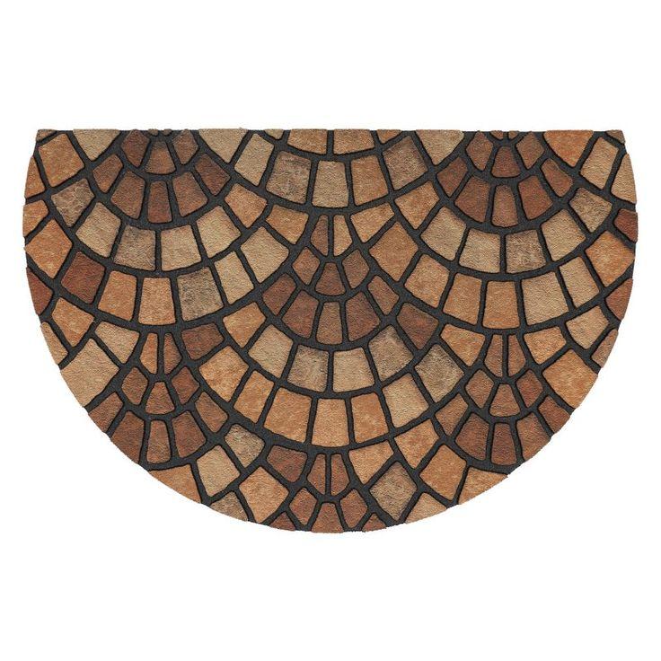Mohawk Home Doorscapes Estate Pompeii Brown Door Mat - 4306 16728 023035