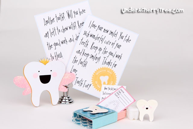 Dear tooth fairy letters made by @Jin Yong