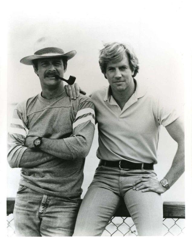 Gerald McRaney and Jameson Parker // Simon and Simon