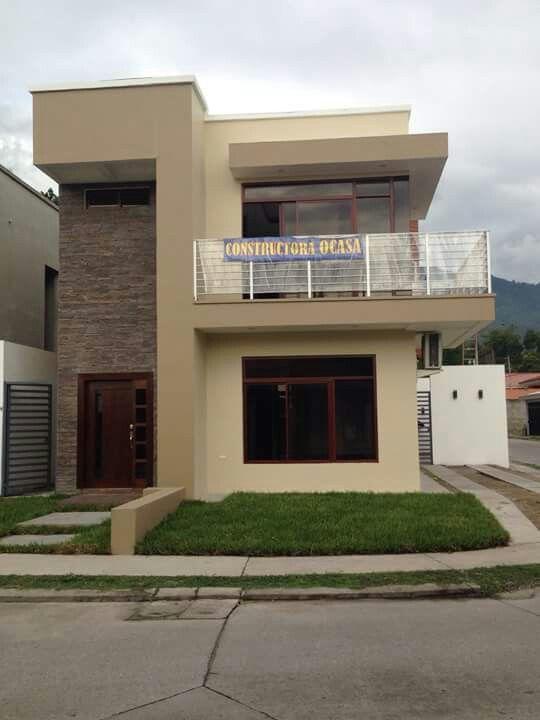 Exterior fachada paleta de colores como escoger la for Casas pintadas interior