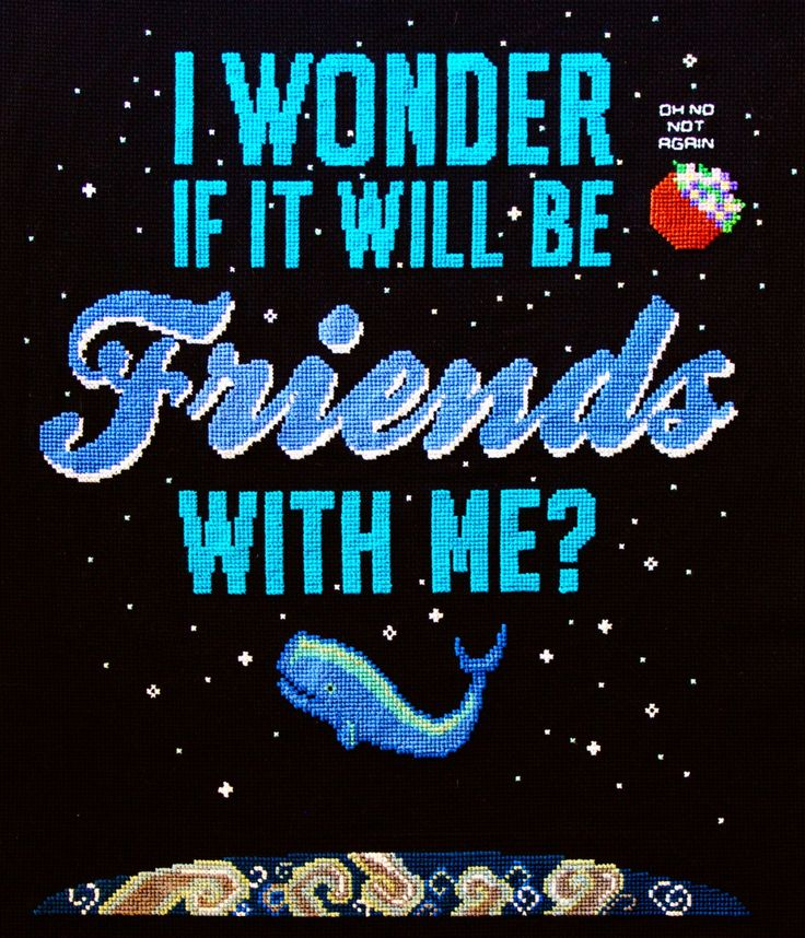 Hitchhiker's Guide to the Galaxy cross stitch