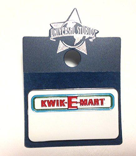 Exclusive Universal Studios The Simpsons Ride Kwik-E-Mart Blank Name Tag Metal Lapel Pin @ niftywarehouse.com #NiftyWarehouse #TV #Shows #TheSimpsons #Simpsons