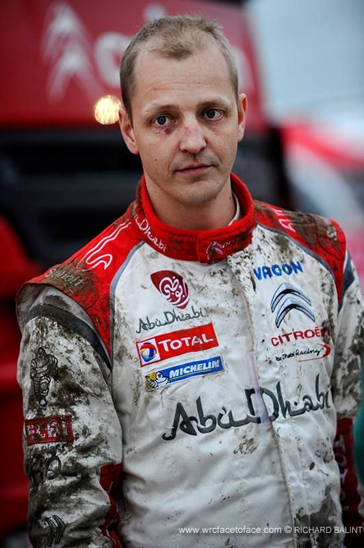 Blody-Muddy game... Cheers up Mikko Hirvonen!!!