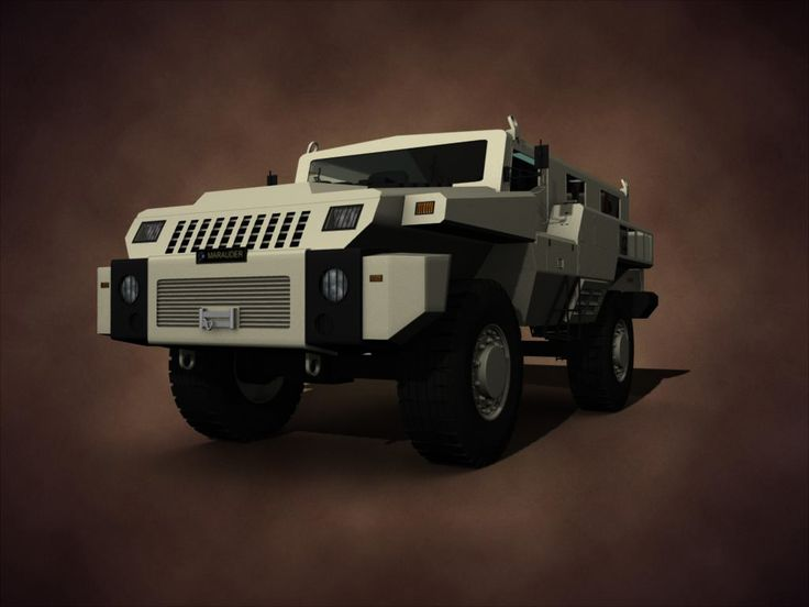 3D Paramount Marauder - 3D Model