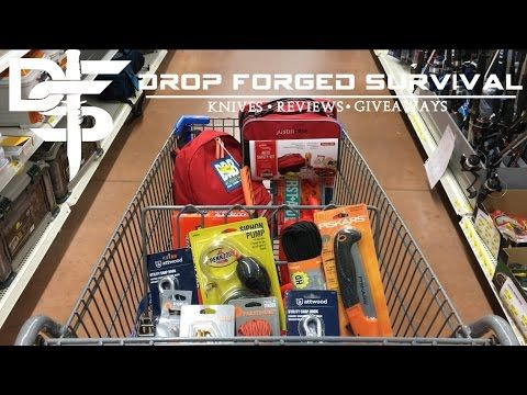 Survival & EDC Shopping at my Local Walmart - 2017 Week 3