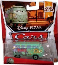 Masinuta metalica, scara 1:64, inspirata din filmul de animatie Cars 2. Varsta recomandata: +3 ani