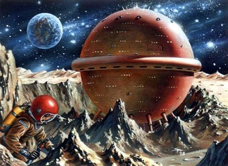"""Perry Rhodan - 45 years old now"" ~retro-futurism"