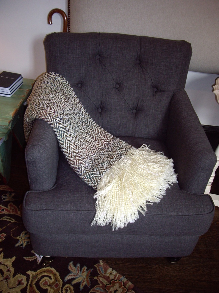 perfect sized tufted accent chair