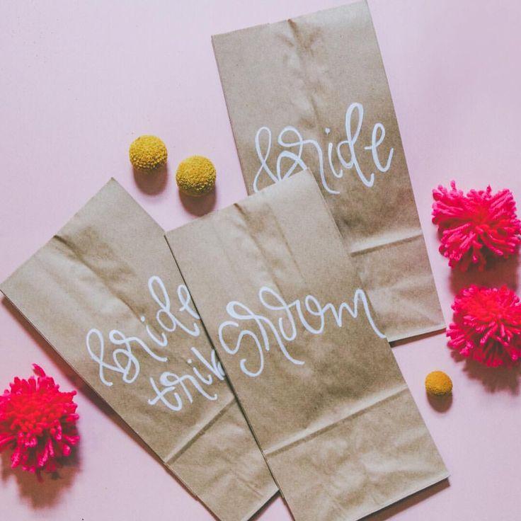 #wedding #weddingplanning  custom wedding gift bags for that special bride tribe ✨