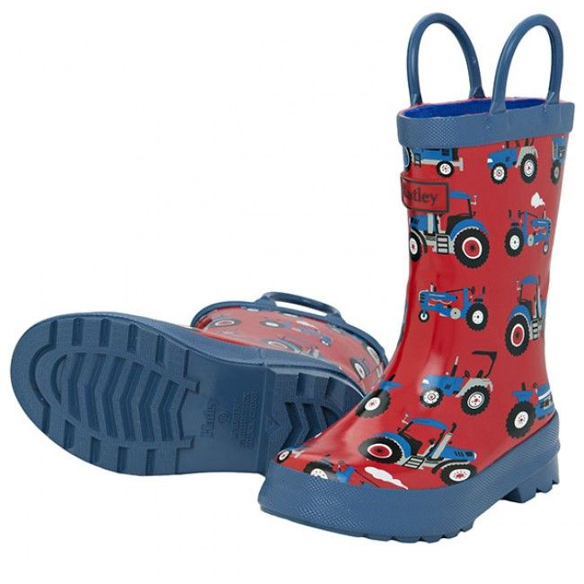 Hatley Farm Tractors Kids Gumboots Kids Rain Boots Kids Wellies Rain Boots