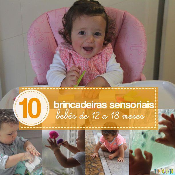 10 brincadeiras sensoriais para beb s de 12 a 18 meses montessori babies and diy baby. Black Bedroom Furniture Sets. Home Design Ideas
