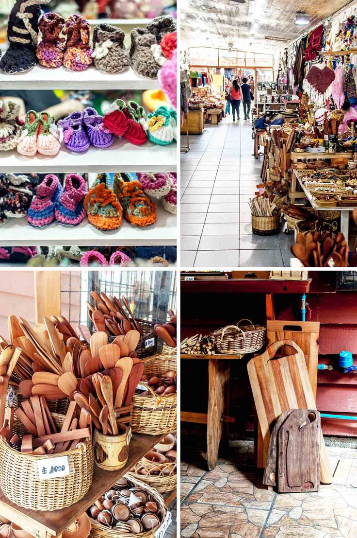 Centro Artesanal Pucon, one of the few handicraft markets in Pucón, Chile | heneedsfood.com