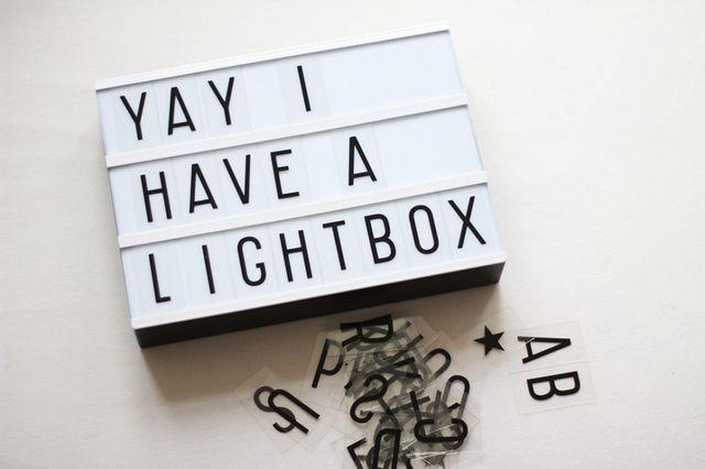 Lovely little lightbox