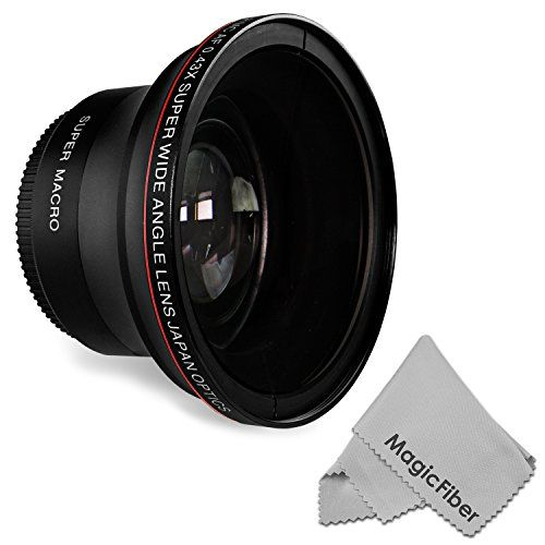 58MM 0.43x Altura Photo Professional HD Wide Angle Lens w/ Macro Portion for Canon EOS Rebel (T6s T6i T5i T5 T4i T3i T3 SL1 1100D 700D 650D 600D 550D 300D 100D 60D 7D 5D 70D), 2016 Amazon Top Rated Lenses  #Photography