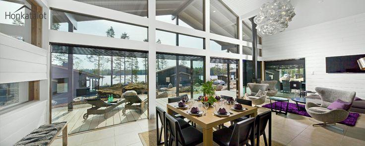 Polar 132 | Modern post & beam home - Honkatalot.fi