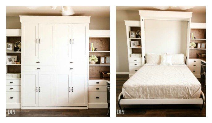 39++ Farmhouse murphy bed type