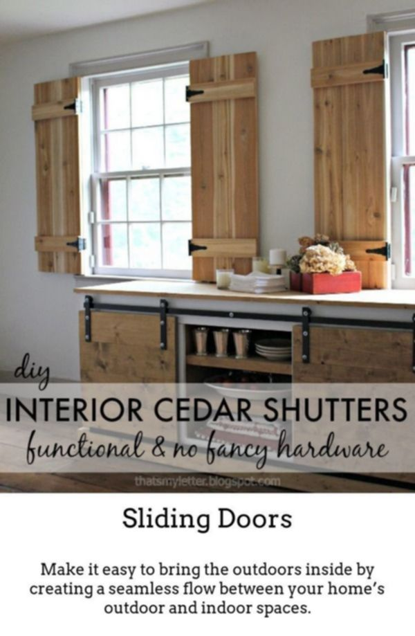 Sliding Doors Produce Your Own Unique Exciting Spaces With