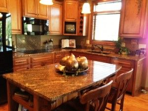 Beautiful GRANITE Kitchen Counters From The Stone Center In Sioux Falls, SD.