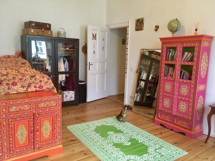 Farbenfrohe Möbelstück! #Möbel #Zimmer #Einrichtung #Schrank - farbpsychologie leuchtende farben interieur design