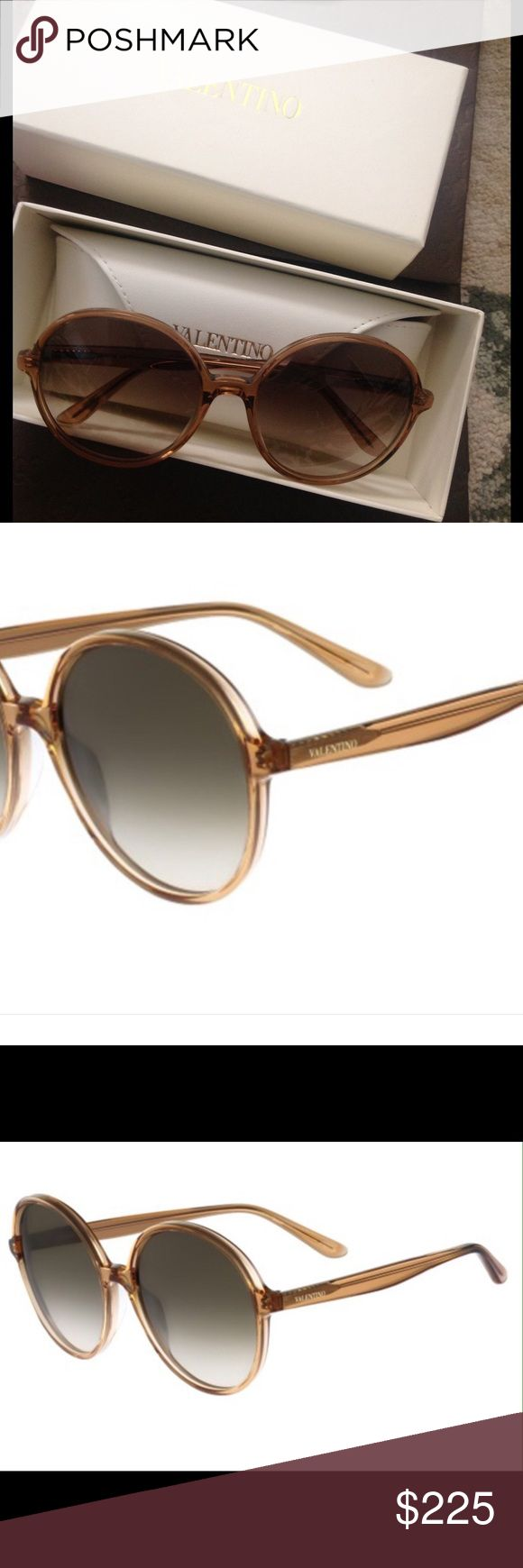 NWT Oversized Jackie O sunglasses by Valentino What better than owning a piece created by the grand maestro himself? These gorgeous sunnies were created for the iconic Jackie Kennedy and became her signature look. Since the oversized style is back these are are very chic for any fashionista These are new with tags !!! Valentino Accessories Sunglasses