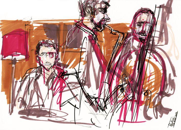 John Tone Trio, Pauline Lugon 2014