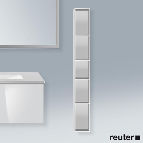 Duravit L Cube Regalelement Vertikal Weiss Hochglanz Duravit