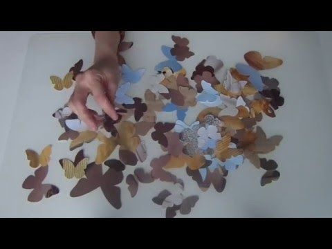 Бабочки бывают разные. Декор стен идеи. декор свадеб. Бабочки из журн...