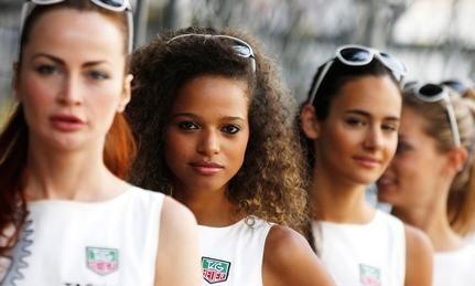 Monaco Grid Girls 2014