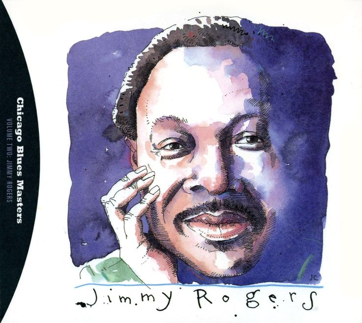 Jimmy Rogers by Joe Ciardiello Capitol Blues Collection (1995)