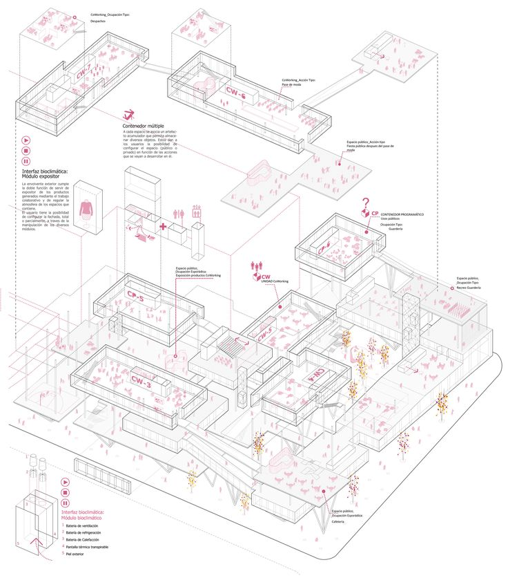 Architectural Competition -COWORKING BUILDING Finalist - Lucia Durio & Nicolas Marine