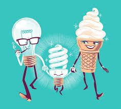 Resultado de imagem para lampada fluorescente desenho