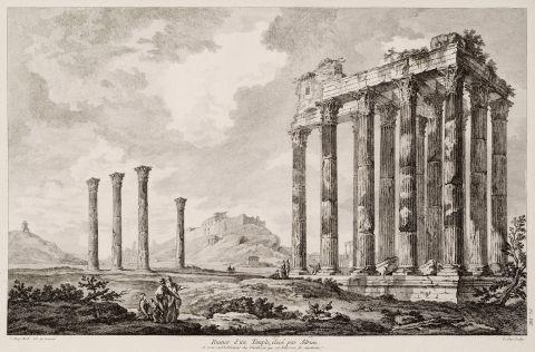 LE ROY, Julien David. - Κόρινθος - ME TO BΛΕΜΜΑ ΤΩΝ ΠΕΡΙΗΓΗΤΩΝ - Τόποι - Μνημεία - Άνθρωποι - Νοτιοανατολική Ευρώπη - Ανατολική Μεσόγειος - Ελλάδα - Μικρά Ασία - Νότιος Ιταλία, 15ος - 20ός αιώνας