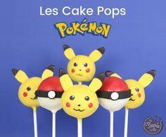 Pokémon, mangez les tous ! #cakepops #pokemongo #pikachu #cakepopspokemon #pokéball #cakedesign