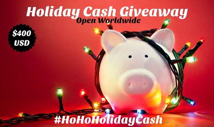 Ho Ho Holiday PayPal Cash Giveaway #HoHoHolidayCash