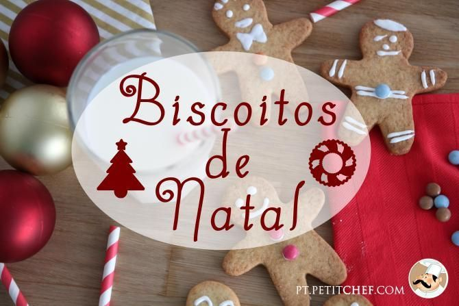 As 12 melhores receitas de Bolachas e Biscoitos de Natal