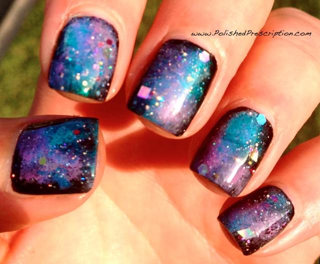 Polished Prescription: Galaxy Nails!