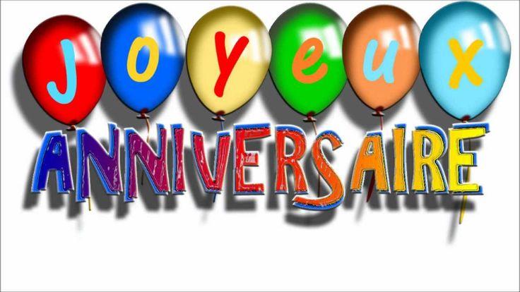 Joyeux anniversaire en francais - joyeux anniversaire humour - anniversa...