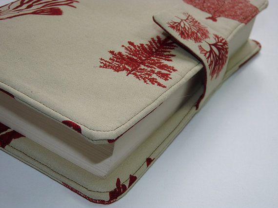 Handmade Fabric Book Covers : Best images about fabric book cover on pinterest