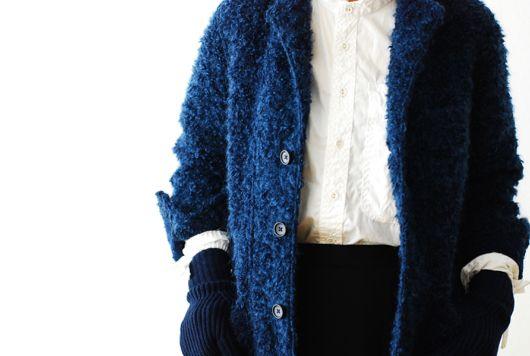 "[ladie's]FWK by Engineered Garments(エフダブリューケイ バイ エンジニアードガーメンツ) ""Knit Blazer - Boucle"""