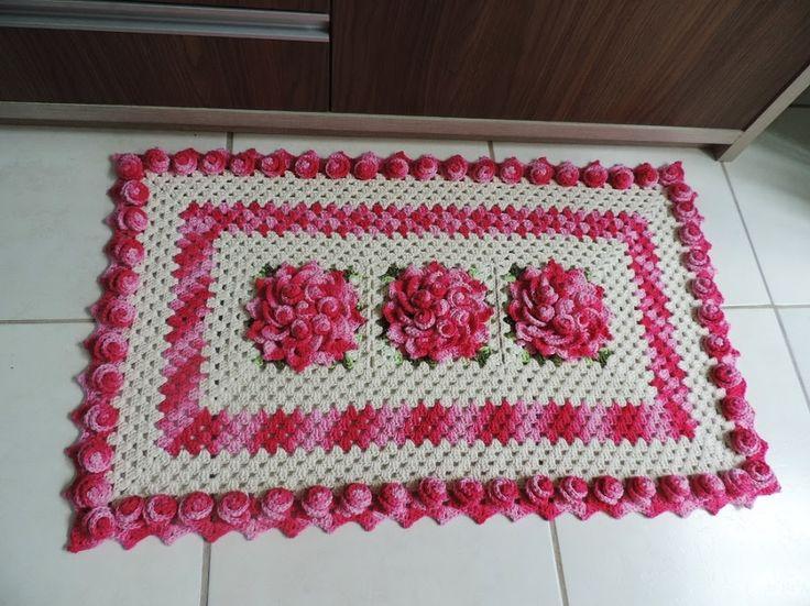 Artesanato De Croche Tapetes ~ 17 melhores imagens sobre Tapetes no Pinterest Artesanato, Mandalas e Amor