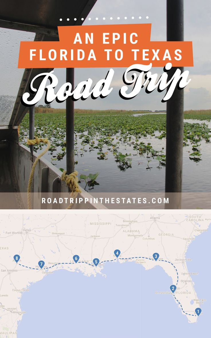 Florida to texas an epic southern road trip itinerary