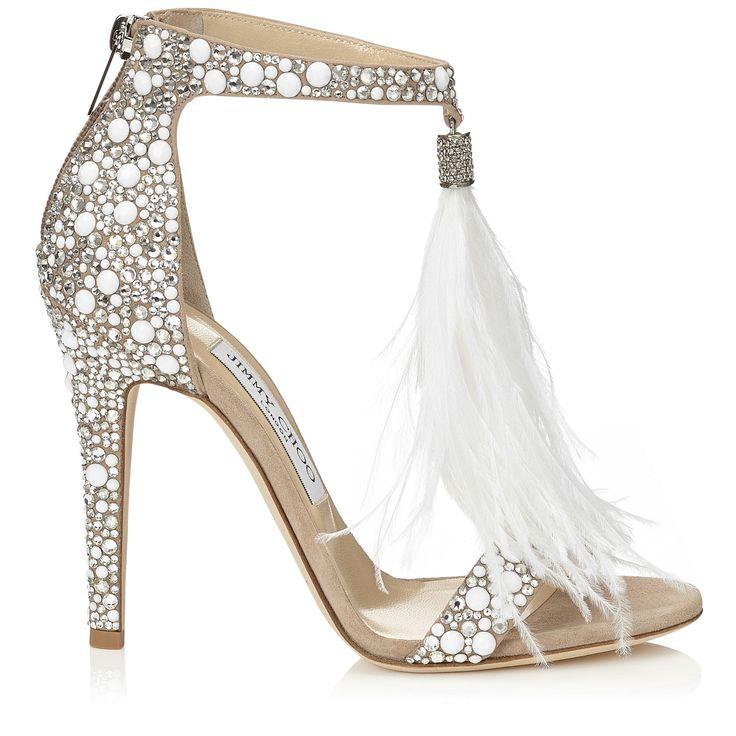 sapatos para noivas com strass - Jimmy Choo