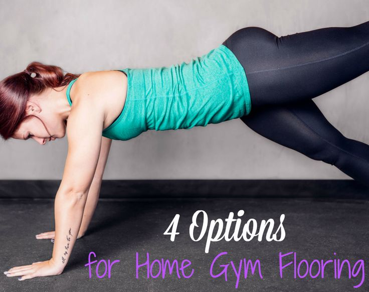 Get started on your home gym with our 4 options for home gym flooring. Choose from rubber, foam, vinyl or carpet and find the best option for you!