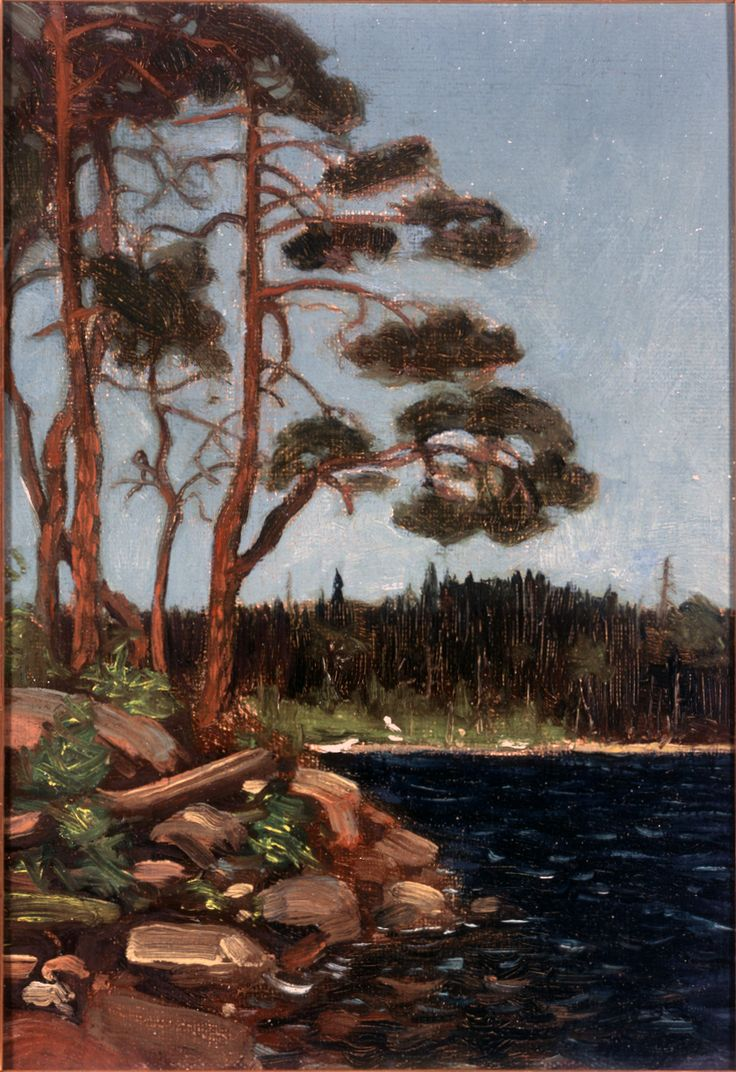 Tom Thomson Catalogue Raisonné | Smoke Lake, Algonquin Park, 1912 (1912.28) | Catalogue entry