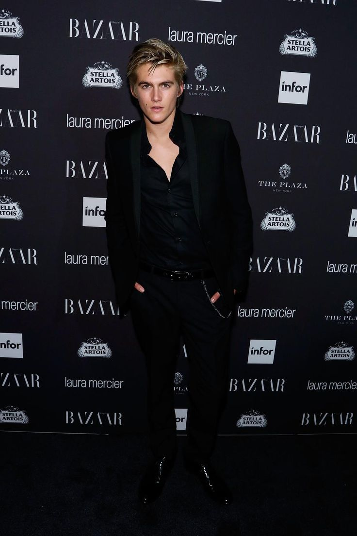 "Presley Gerber at the ""Harper's Bazaar"" Icons party. Photo: Taylor…"
